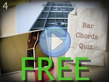 Bar Chords Quiz