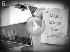 Major, Minor, Sus Chords
