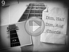 Dim, Half Dim, Aug Chords