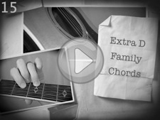 Extra D Family Chords