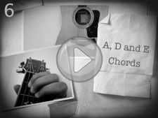 A D and E Chords