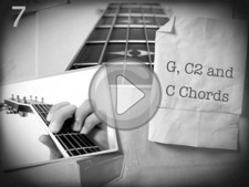 G, C2 and C Chords