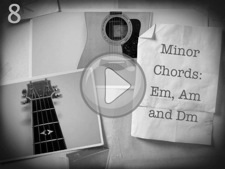Minor Chords: Em, Am and Dm