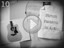 Strum Pattern in 4/4