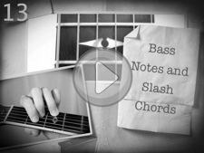 Bass Notes and Slash Chords