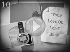 """Your Love Oh Lord (Slow)"""