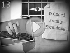 D Chord Family Switching