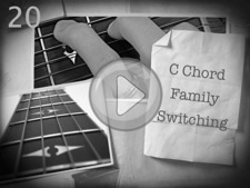 C Chord Family Switching